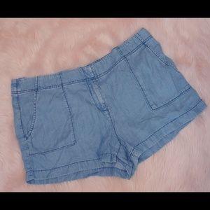 Sale 💰 Ann Taylor loft Lyocell Chambray shorts